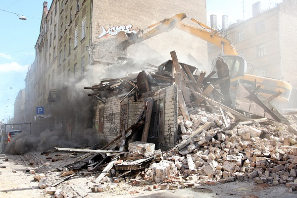 L'entrepsire de demolition et Terrassement Saint-Paul-en-Foret